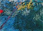 Umberto Boccioni States of Mind Triptych (Stati d'animo) 1911 (later version) Those Who Go MoMA New York
