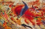 Umberto Boccioni The City Rises (La città che sale) 1910 11 MoMA New York