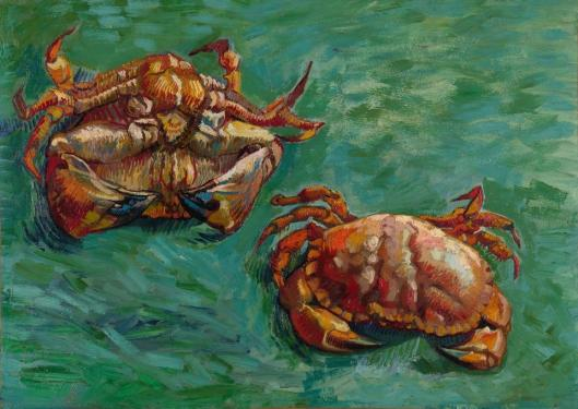 Vincent van Gogh Two Crabs 1889 priv coll