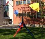 Alexander Calder Crinkly standing mobile 1969 permanent loan Amboise