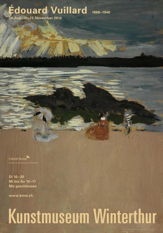 Edouard Vuillard Kunstmuseum Winterthur exhibition poster