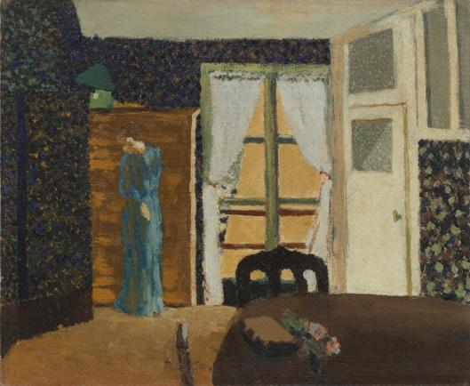 Edouard Vuillard La fenêtre Window 1894 MoMA Museum of Modern Art New York