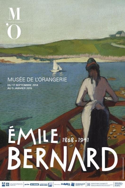 emile bernard Musée de l'Orangerie poster