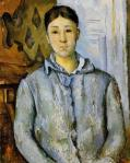 Madame Cézanne in Blue 1888 90 Museum of Fine Arts Houston