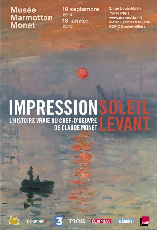 Monet's Impression Sunrise The Biography of a Painting poster
