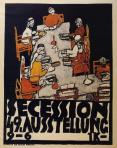 Egon Schiele Round Table Poster for the 49th Vienna Secession Exhibition 1918