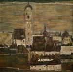 Egon Schiele Stein on the Danube II 1913 Leopold Museum Vienna