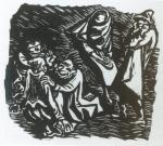 Ernst Barlach Der Findling 1922 woodcut