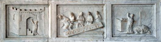 Gano di Fazio Episodes of the Life of Blessed Gioacchino 'Piccolomini' Pinacoteca Nazionale Siena Pinacoteca Nazionale Siena
