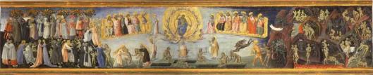 Giovanni di Paolo di Grazia Last Judgement Paradise Hell ca 1460 65 Pinacoteca Nazionale Siena