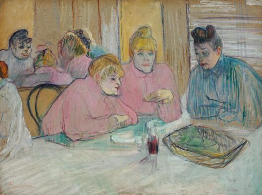 Henri de Toulouse-Lautrec Ladies in the Dining Room 1893 95 Szépművészeti Múzeum Budapest