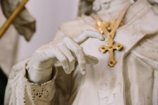 Ignaz Günther Saint Norbert ca 1765 St. Peter and Paul church Freising-Neustift