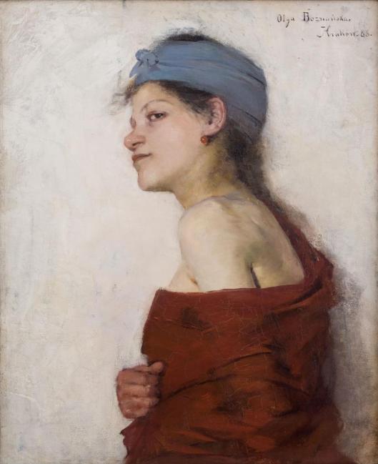 Olga Boznańska Woman (Gipsy) 1888 MNK Muzeum Narodowe w Krakowie