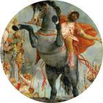 Paolo Veronese Sacrificial Death of Marcus Curtius 1552 KHM Vienna
