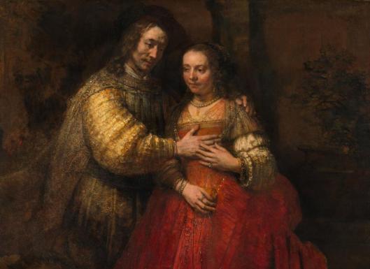 Rembrandt van Rijn so called Jewish Bride ca 1665 Rijksmuseum Amsterdam