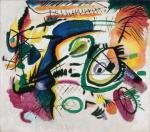 Wassily Kandinsky Fragment I for Composition VII (Center) 1913 Milwaukee Art Museum