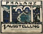 Wassily Kandinsky Poster for the First Phalanx Exhibition 1901 lithograph