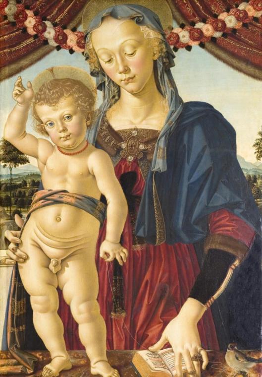 Pietro Perugino Virgin and Child ca 1470 Musée Jacquemart-André Paris