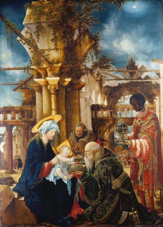 Albrecht Altdorfer Adoration of the Magi 1530 35 Städel Museum Frankfurt am Main
