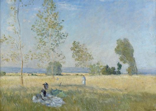 Claude Monet Summer 1874 Staatliche Museen zu Berlin Nationalgalerie