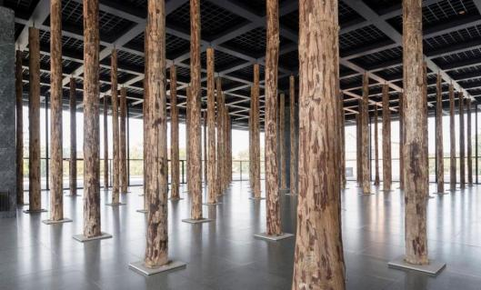 David Chipperfield Sticks and Stones Eine Intervention 2014 Neue Nationalgalerie Berlin