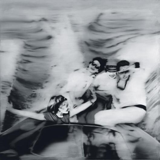 Gerhard Richter Motor Boat (1. Version) priv coll loan Staatliche Kunstsammlungen Dresden