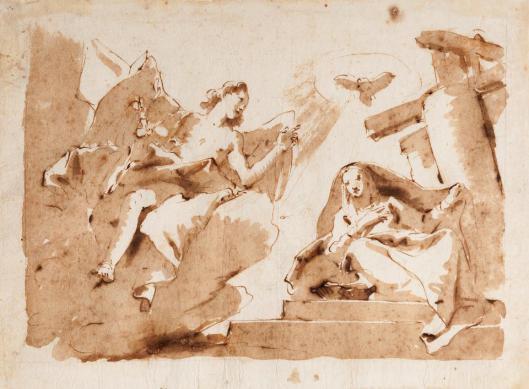 Giambattista Tiepolo Annunciation Museo Stefano Bardini Florence