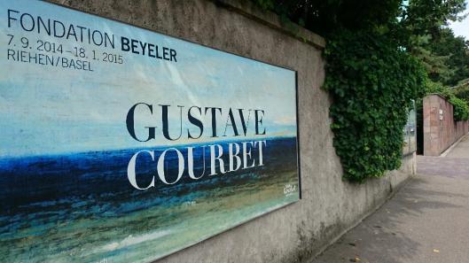Gustave Courbet exhibition Fondation Beyeler Basel artdone