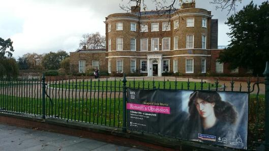 William Morris Gallery London Rossetti exhibition 2014 artdone