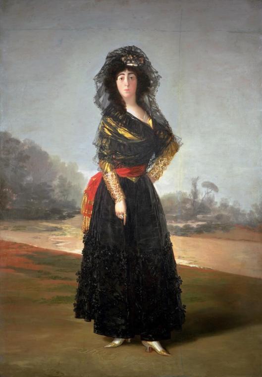 Francisco Goya Duchess of Alba 1797 Hispanic Society of America New York