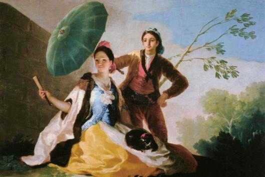 Francisco Goya Parasol 1777 Museo Nacional del Prado Madrid