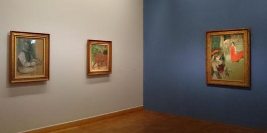 Henri de Toulouse-Lautrec The Path of Modernism exhibition view Vienna artdone