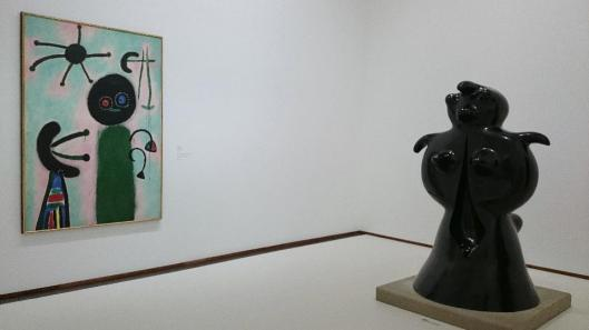 Joan Miró From Earth to Sky exhibition view Albertina artdone