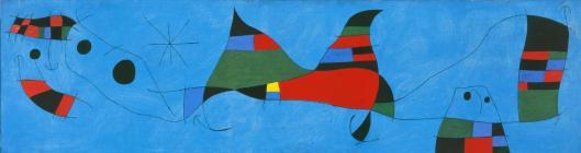 Joan Miro Painting (For David Fernández Miró) 1964 priv coll