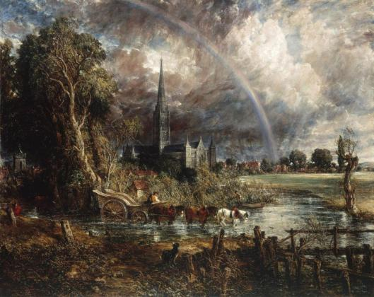 John Constable Salisbury Cathedral from the Meadows 1831 Tate London