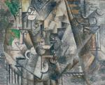 Pablo Picasso Chess 1911 Lauder Met New York