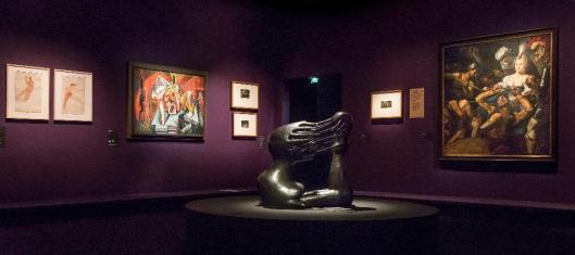 Sade. Attacking the Sun exhibition view Orsay Paris