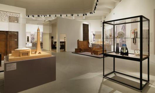 Ways to Modernism Josef Hoffmann, Adolf Loos, and Their Impact exhibition view MAK Vienna