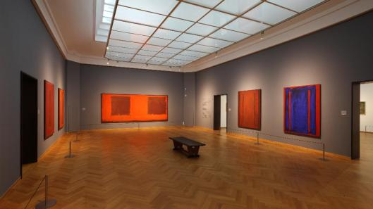 Mark Rothko exhibition Gemeentemuseum Den Haag Hague