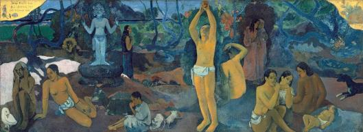 Paul Gauguin Where Do We Come From What Are We Where Are We Going Museum of Fine Arts Boston MFA