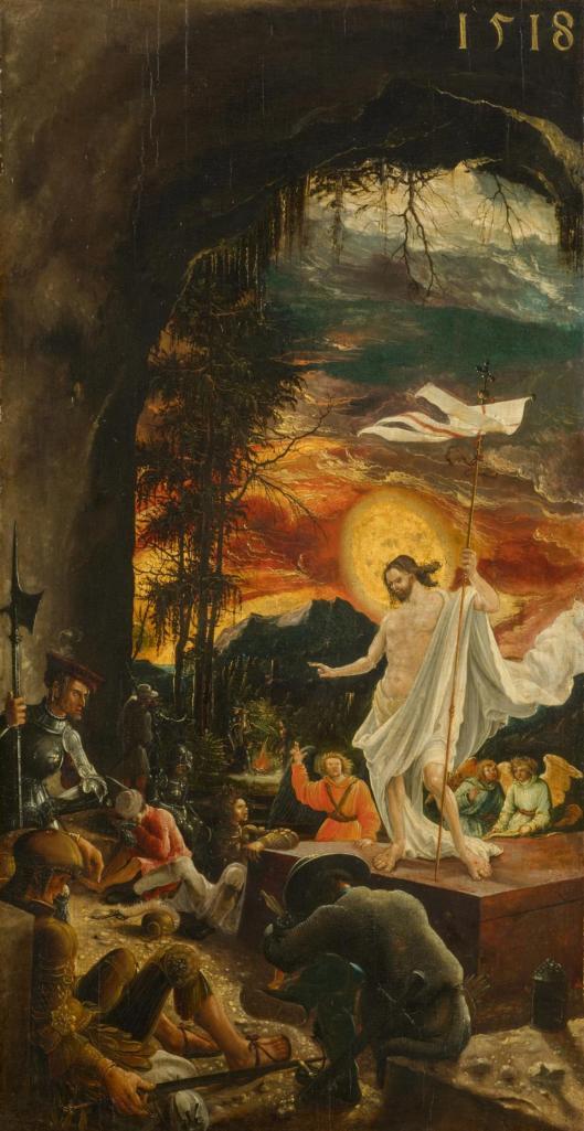 Albrecht Altdorfer Resurrection KHM Kunsthistorisches Museum Vienna