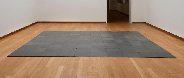 Carl Andre 10 x 10 Altstadt Lead Square 1967'