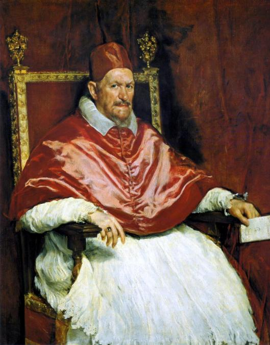 Diego Velázquez Innocent X 1650 Galleria Doria Pamphilj Rome