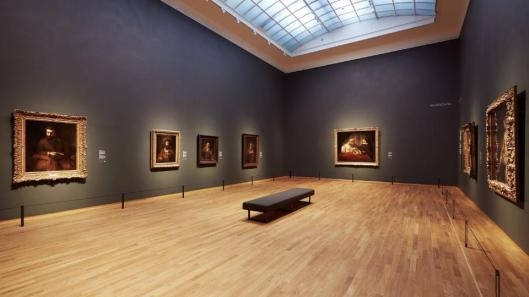 Late Rembrandt Amsterdam exhibition view