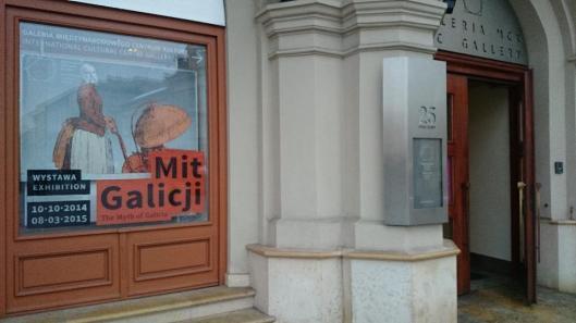 Mit Galicji wejscie Międzynarodowe Centrum Kultury Krakow artdone