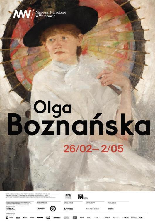 Olga Boznanska plakat poster MNW