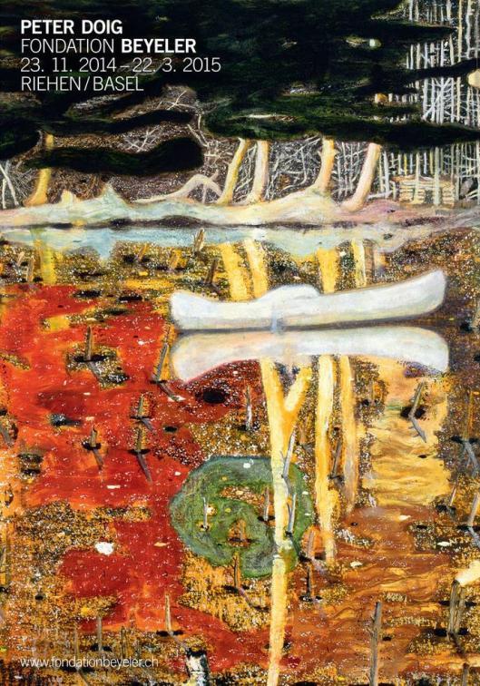Peter Doig exhibition Fondation Beyeler Basel poster