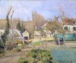 Camille Pissarro Kitchen Gardens at L'Hermitage Pontoise 1874 National Galleries Scotland Edinburgh