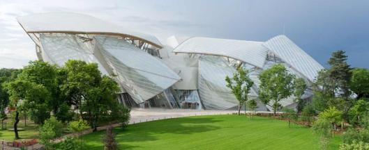 Frank Ghery Fondation Louis Vuitton Paris