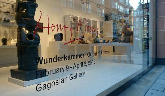 Henry Moore Wunderkammer Origin of Forms exhibition Gagosian Gallery Davies Street London artdone 29
